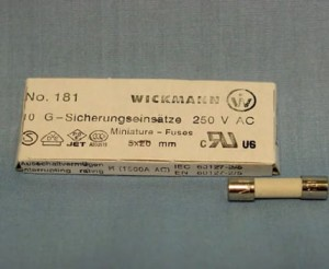 Fusible 3,15 A T5x20mm Ty